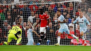 West Ham dio la sorpresa y eliminó al Manchester United de la Copa de la Liga