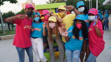 Distrito habla 'A Calzón Quitao' de sexualidad en los parques