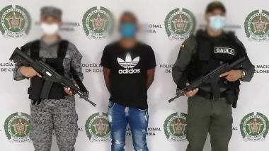 Capturan a hombre en Montería por el delito de extorsión