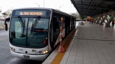 Transmetro suspende rutas alimentadoras en Soledad por protestas