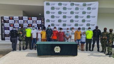 Caen 10 de los Pachenca por venta de droga en Santa Marta