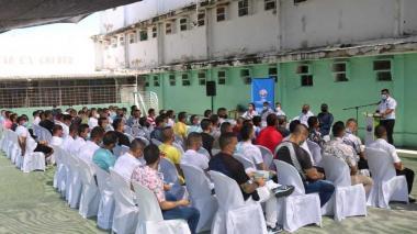 Certifican a 63 presos como auxiliares de electricidad y refrigeración