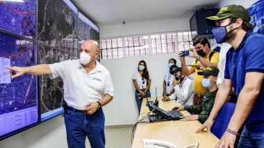 Alcalde Pumarejo confía en que Gobierno dejará refuerzo policial en la ciudad