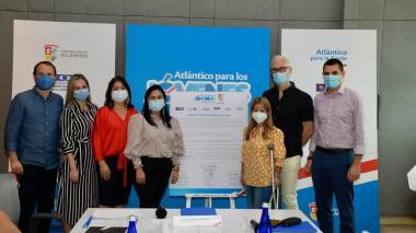 Gobernación y gremios promueven empleo para jóvenes del Atlántico