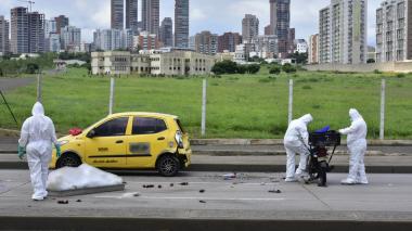 Domiciliario muere tras ser arrollado por un camión en la Vía 40