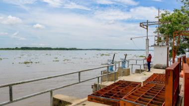 """El nivel del río Magdalena aumenta """"aceleradamente"""""""