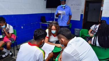 Las enseñanzas en la primera IED trilingüe de Barranquilla