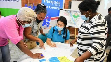Socializan diseños de nueva fase del Parque Lineal Bicentenario en Barranquilla