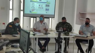 Reforzarán pie de fuerza contra la extorsión en el sur de Córdoba