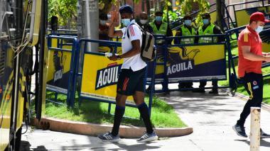 Colombia ya está en Barranquilla para su juegos ante Brasil y Ecuador