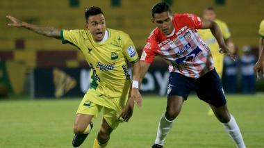 Hómer Martínez analizó el empate de Junior ante Bucaramanga