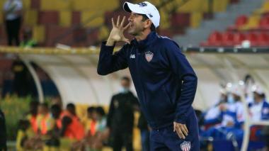 Arturo Reyes cree que Junior hizo un buen partido contra Bucaramanga