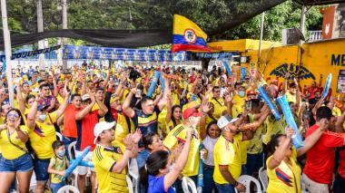 La fiesta de la Tricolor se vivió en cada rincón de Barranquilla