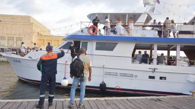 Intensifican control para evitar ruido en embarcaciones turísticas en Cartagena
