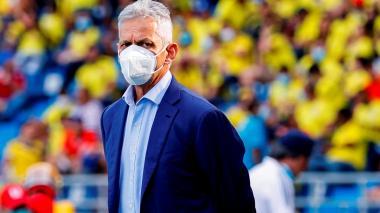 Reinaldo Rueda criticó el arbitraje del juego entre Colombia y Ecuador