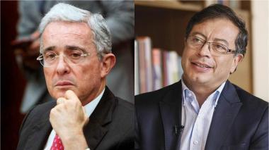Uribe y Petro se trenzan en discusión por tierras del expresidente