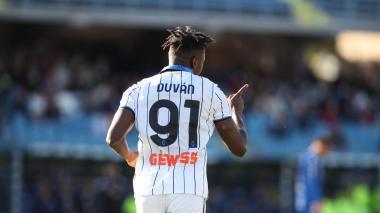 Duván Zapata, primer colombiano en marcar 100 goles en la Serie A