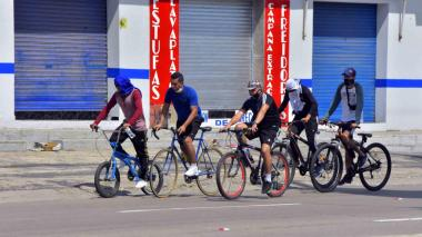 Bici en Barranquilla