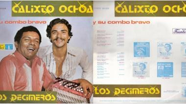 Las mejores carátulas de los discos de Calixto Ochoa