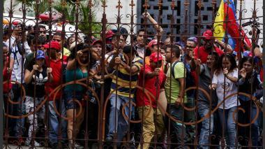 En imágenes: la toma de los chavistas a la Asamblea Nacional de Venezuela