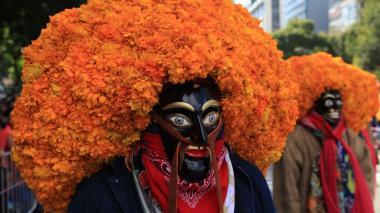 En imágenes: Así fue el desfile del día de los muertos en México
