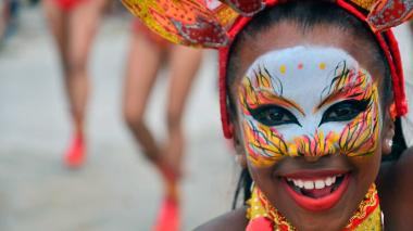 Imágenes del desfile de Getsemani en Cartagena