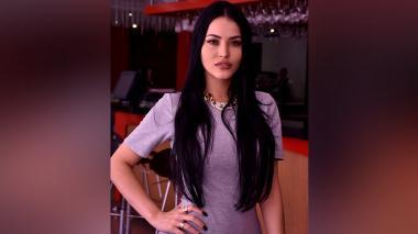 La 'Megan Fox' brasileña estuvo de visita en Barranquilla