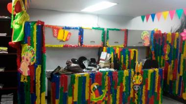 En imágenes | Así se preparan los juzgados de Barranquilla para el Carnaval