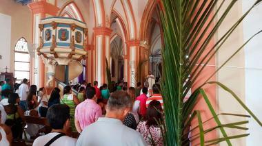 En imágenes | Así se celebró el Domingo de Ramos en Barranquilla