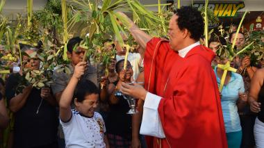 En imágenes | Así se celebró el Domingo de Ramos en Santa Marta