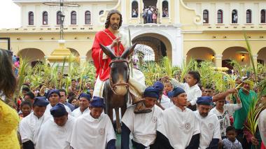 En imágenes | Así se celebró el Domingo de Ramos en Mompox