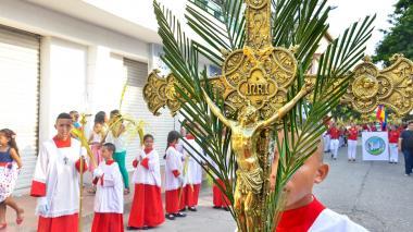 En imágenes | Así se celebró el Domingo de Ramos en Sabanalarga