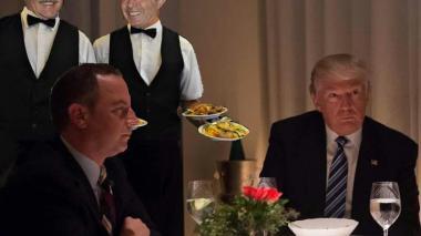 Los memes que dejó el encuentro de Uribe y Pastrana con Donald Trump