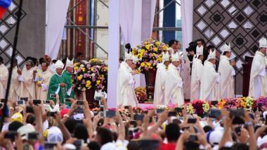 En imágenes | La eucaristía del papa Francisco en Cartagena