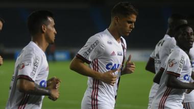 Flamengo pisa el Metro por primera vez