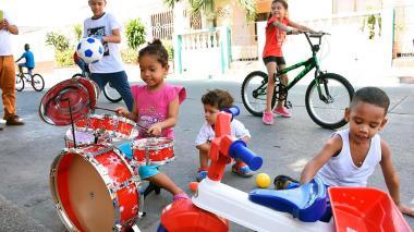 El Niño Dios madrugó a jugar en Barranquilla