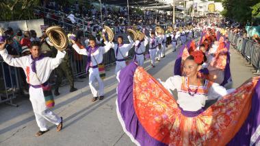 Así fue el derroche de folclor en el desfile de fandangueros en Sincelejo