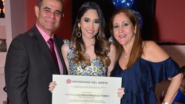 Grado de Michelle González Pombo