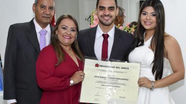Grado de José Ignacio Percy Manjarrés