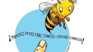 Las abejas 'cubanizadas'