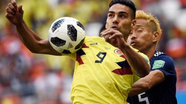 Reviva en imágenes el debut de la Selección Colombia en Rusia 2018