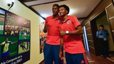Colombia calienta motores para enfrentar a Senegal