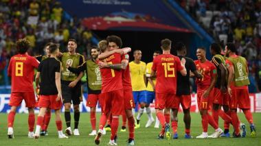 Estas son las imágenes que deja el encuentro entre Brasil y Bélgica