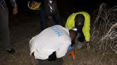 En este sitio encontraron el cuerpo de Brenda Pájaro