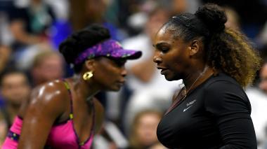 En imágenes | Los mejores momentos del duelo entre Serena y Venus Williams