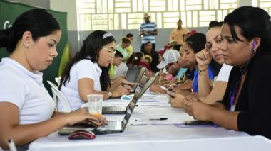 Así transcurre la Feria de Empleo para venezolanos y retornados