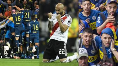 Los mejores momentos que dejó el superclásico en el Bernabéu