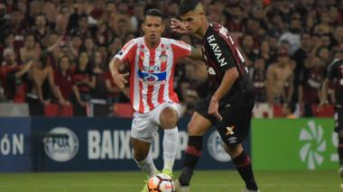 Así jugaron Paranaense y Junior la final de la Sudamericana