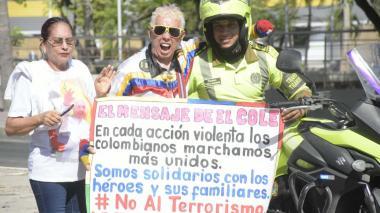 En imágenes   Los costeños le dicen No al terrorismo