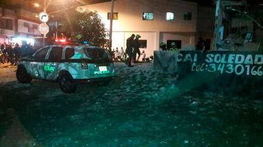 La devastación causada por la explosión en el atentado a la estación de Soledad 2000 hace un año